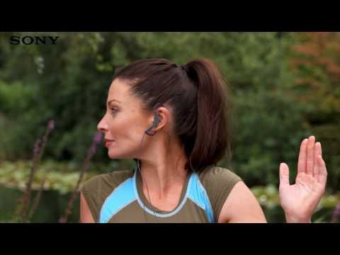 Наушники-вкладыши Sony MDR-AS210AP видео 1
