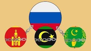 5 вассалов Российской империи