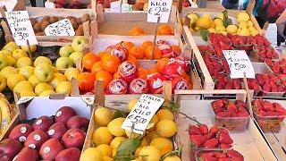 РЫНОК В ВЕНЕЦИИ и цены на продукты, овощи, фрукты   Цены в Европе 2018