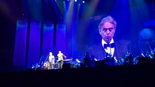 Voglio vivere cosi by Andrea Bocelli. Antwerp 20-01-2018. Recorded by Jan-Willem Noom
