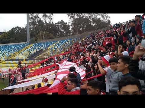 """""""Unión la Calera vs Iquique - La banda cementera"""" Barra: La Banda Cementera • Club: Unión La Calera"""