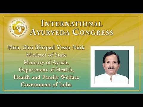 Hon. Shri Shripad Yesso Naik, Minister of State, Ministry of AYUSH, Government of India