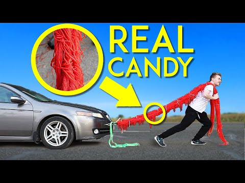 How Strong is Licorice Candy Rope?