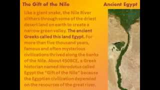 The Gift of the Nile | Herodotus | 484 BC - 425 BC