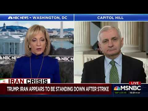 Reed Discusses Iran Developments on Andrea Mitchell Reports