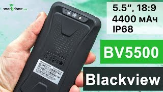 Смартфон Blackview BV5500 2/16GB Black от компании Cthp - видео 3