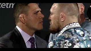 UFC 197 Face-offs: Rafael dos Anjos vs Conor McGregor and Holly Holm vs Miesha Tate
