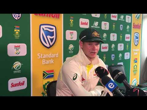 Steve Smith talks about the tunnel altercation between David Warner and Quinton de Kock