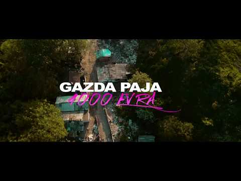 GAZDA PAJA - 1000 EVRA  feat. DJ A.S. ONE (OFFICIAL VIDEO)