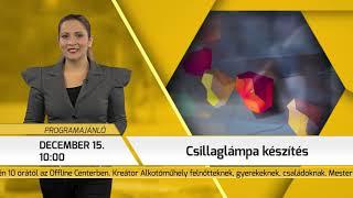 Programajánló / TV Szentendre / 2018.12.13.
