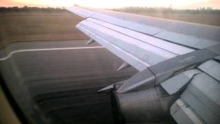 Air Zimbabwe Boeing 737 200 Landing At Harare Airport