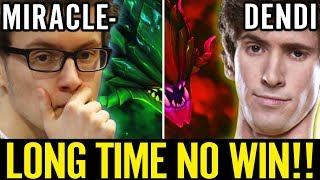 Dendi vs Miracle New Patch 707 Respect the Legend Dota 2 Pro Viper Carry