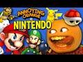 Annoying Orange vs Nintendo Supercut by