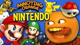 Annoying Orange vs Nintendo (Supercut)