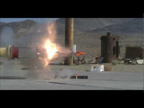 US Navy Tests Missiles In Giant Potato Gun