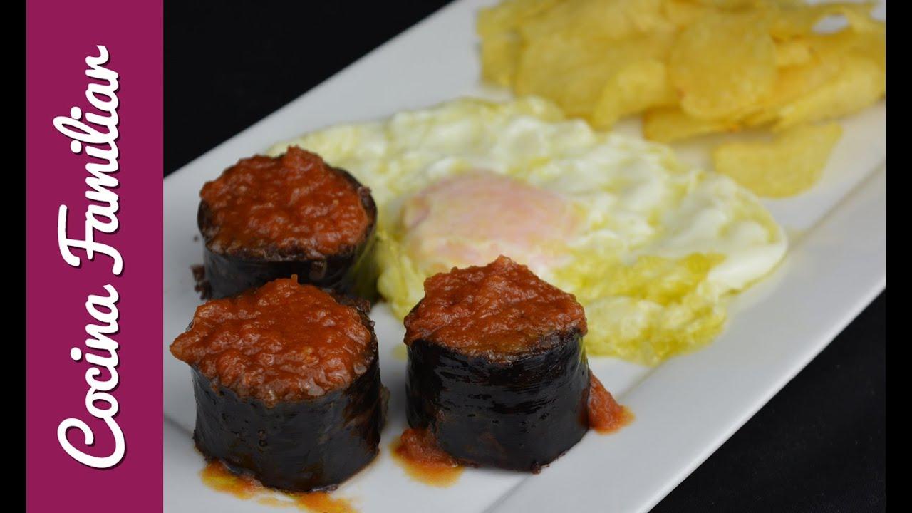 Morcilla asada con tomate y huevo frito | Javier Romero