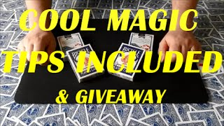 Card Tricks | French Twist | Performance Magic Tips Revealed | Give Away