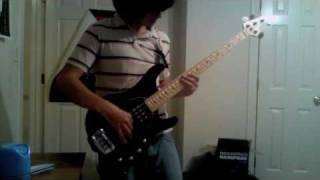 Anti-Flag - We Want To Be Free Bass Cover