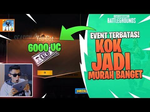 EVENT TERBATAS! 6000 UC jadi MURAH BANGET - PUBG Mobile
