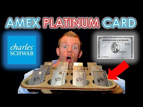 AMEX PLATINUM Charles Schwab! (BEST CASH BACK CREDIT CARDS)