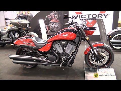 2015 Victory Hammer S - Walkaround - 2014 EICMA Milan Motorcycle Exhibition