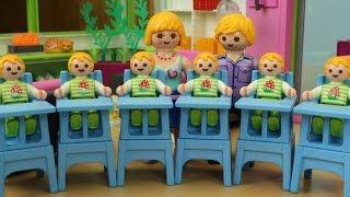 Die Geburt Von Sechslingen Playmobil Film Seratus1 Stop Motion Luxusvilla