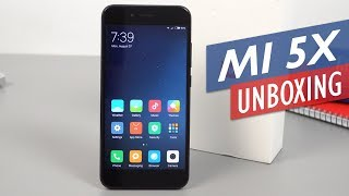 Xiaomi Mi 5X Unboxing And Hands-On Review (English)
