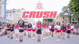 [KPOP IN PUBLIC] Produce101 (프로듀스101) - CRUSH (Final Stage) DANCE COVER by BLACK CHUCK