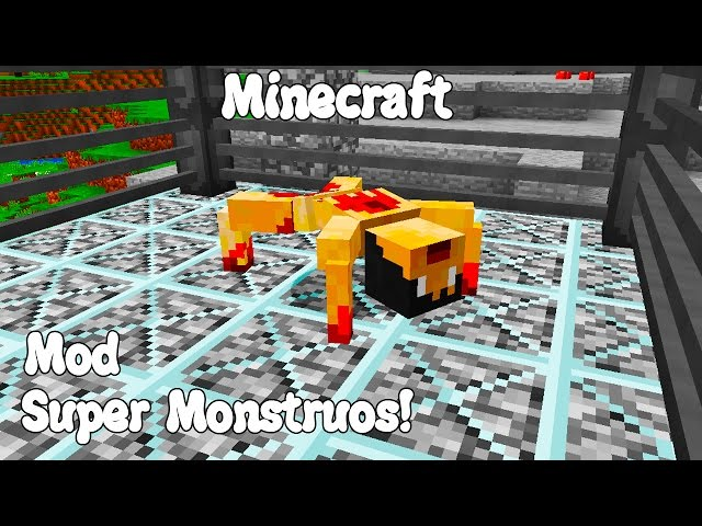Minecraft-1-11-mod-super-monstruos