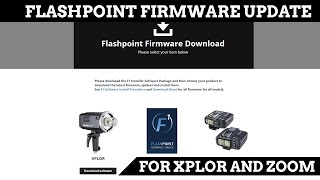F1 Flashpoint Firmware Update the Adorama Flashpoint R2 Xplor and Zoom Strobes on a Windows 10 PC