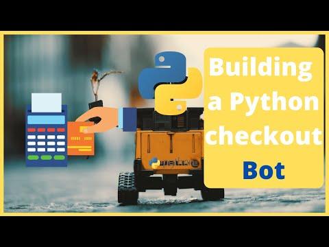 Building an auto checkout bot with Python - selenium tutorial