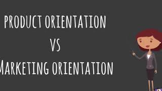 Product Orientation vs Marketing Orientation