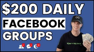 How to Make Money with Facebook Groups! (Beginner Friendly)