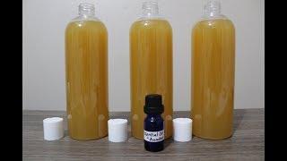 Making Liquid Soap, Castile Soap, DIY Liquid Soap - Hot Process Soap - TOT Skincare