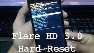 Cherry Mobile Flare HD 3.0 Hard Reset