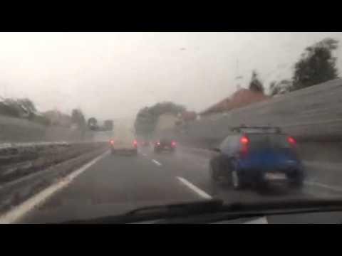 Super temporale sull'A8