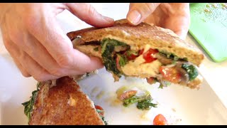 The Ultimate Vegan Grilled Cheeze Sandwich Recipe...