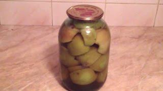 Маринованные яблоки с корицей