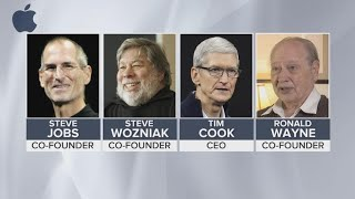 Apple co-founder Ronald Wayne sold 10% of company for $800 in '70s