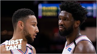 Can Joel Embiid & Ben Simmons win the NBA title? First Take debates