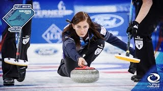 Sweden V Scotland - Bronze Medal - CPT World Womens Curling Championship 2017