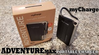 BEST Portable Charger-mycharge ADVENTURE MAX 10050mAh Powerbank for Smart Phones and Tablets