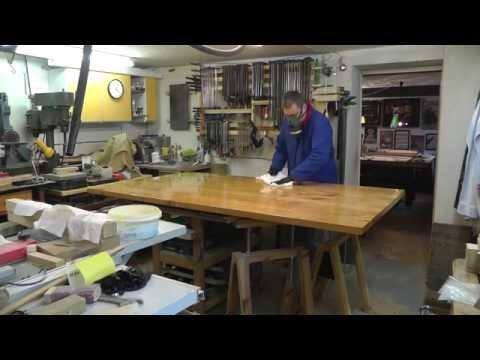 Esszimmertisch 4 - Bau der Tischplatte Teil 3