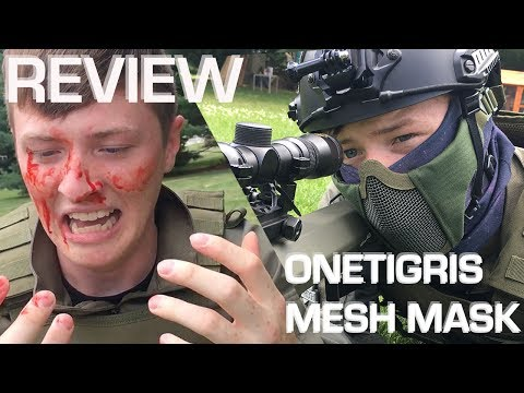 OneTigris Mesh Mask Review//Callsign: Reach Airsoft Gear