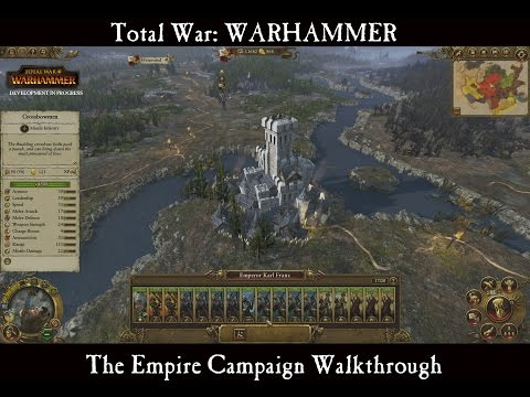 Total War Warhammer Empire Video Features Unique Strategy Map