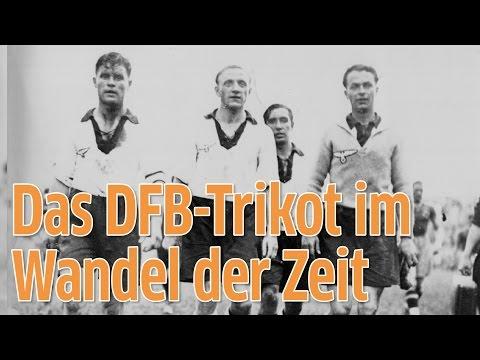 Das DFB-Trikot im Wandel der Zeit