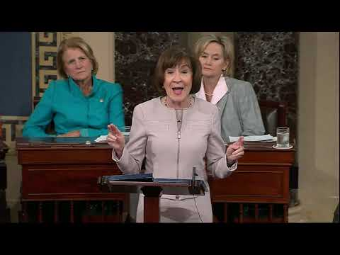 Republican Sen. Susan Collins of Maine said Friday she will vote to confirm Brett Kavanaugh's Supreme Court nomination, all but ensuring the Senate will elevate the conservative jurist to the nation's highest court. (Oct. 5)