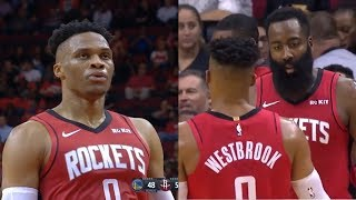JAMES HARDEN & RUSSELL WESTBROOK LAUGH AT STEPHEN CURRY AND THE WARRIORS TRYING TO WIN