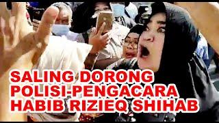Sidang Habib Rizieq Tetap Online, Pengacara Ribut dengan Polisi