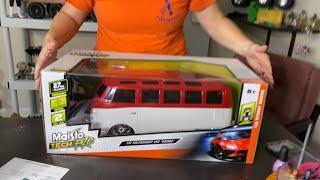 Maisto Tech Rc Volkswagen Van  Body unboxing.